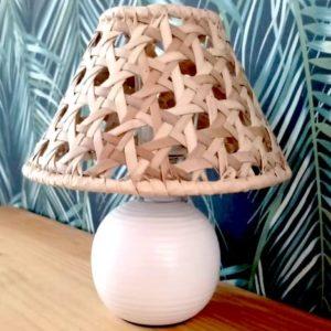 LAMPE EN VACOA